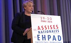 Pascale Boistard aux Assises des EHPAD 2016